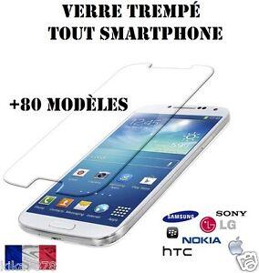 Vitre-protection-VERRE-Trempe-film-protecteur-d-039-ecran-Samsung-iPhone-LG-NOKIA