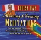 Morning & Evening Meditations by Louise Hay (CD-Audio, 2003)
