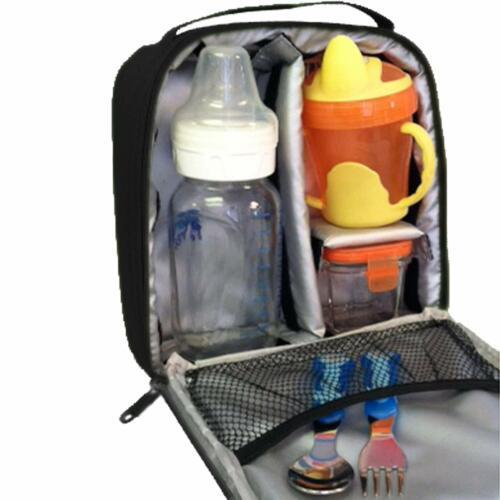 Black JL Childress Cooler Cube Food and Bottle Bag
