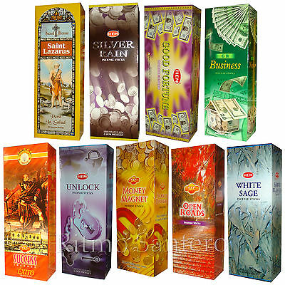 Incienso Surtido Fragant Myrrh 4 Cajas x 15g Persian Musk- Dragon/´s Blood Californian White Sage
