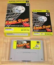 Super Famicom:  J. League - Excite Stage '96