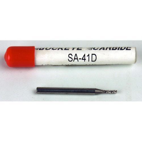 SA-41D Carbide Burr Double Cut 1//8 x 1//16 x 1//4 x 1 1//2 Cylindrical