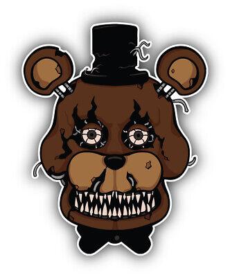 /'/'SIZES/'/' Five Nights At Freddy/'s Cartoon Bonnie Sticker Bumper Decal