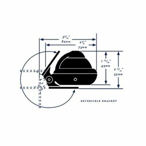 RitchieSport X-10B-M Bracket Mount Compass Traditional Black MD