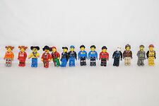 LEGO 14 Figuren für Junior Sets Pirat Rennfahrer Polizei City