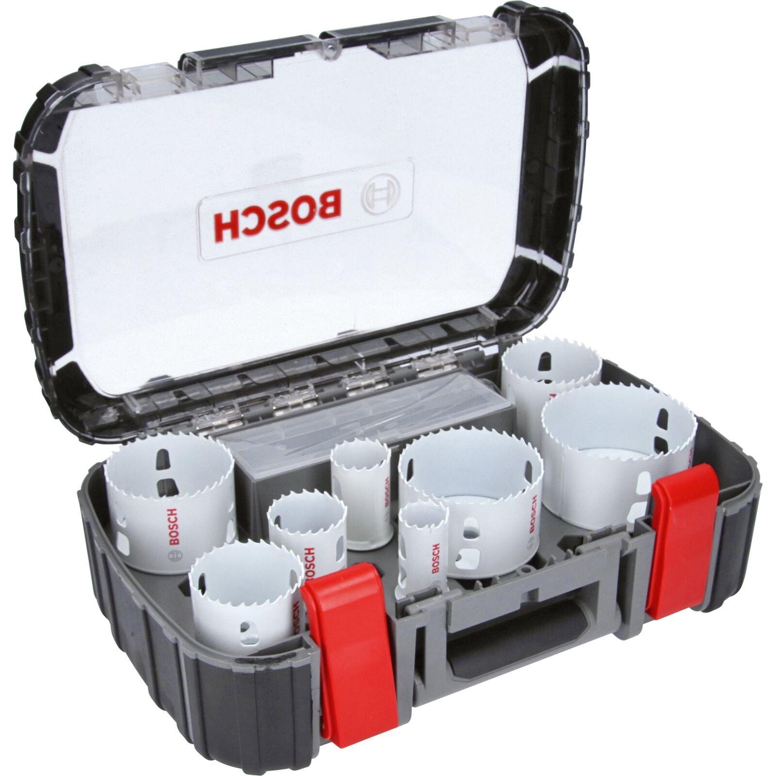 Bosch Professional Lochsägen-Set Progressor Universal, 11-teilig, weiß