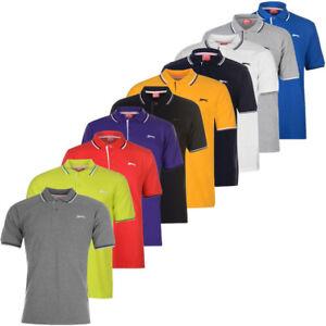 Slazenger-polo-tipped-polo-shirt-polo-chemise-s-m-l-xl-2xl-3xl-4xl-NEUF