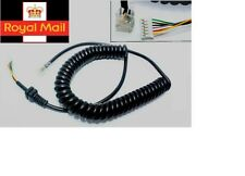 Mic Cable For Yaesu Vertex Microphone MH-48A6J MH-42B6J Microphone Cord