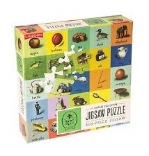 Lagoon Ladybird 500 piece Vintage Style ABC Jigsaw Puzzle Educational Fun