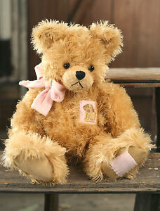 Teddy Bear Becky Handmade Settler Bears Collectable Gift Patch Featured 38cms