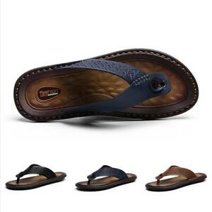 Thong-Sandals-Shoes-Men-Leisure-Summer-Beach-Trail-Sand-Slides-Comfort-Fashion