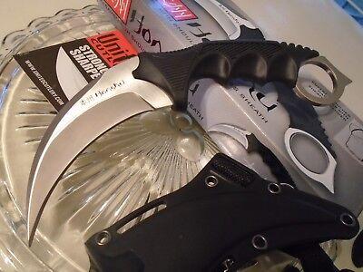 Honshu Combat Karambit Claw Dagger Knife Leather Shoulder Sheath UC2977 CSGO New