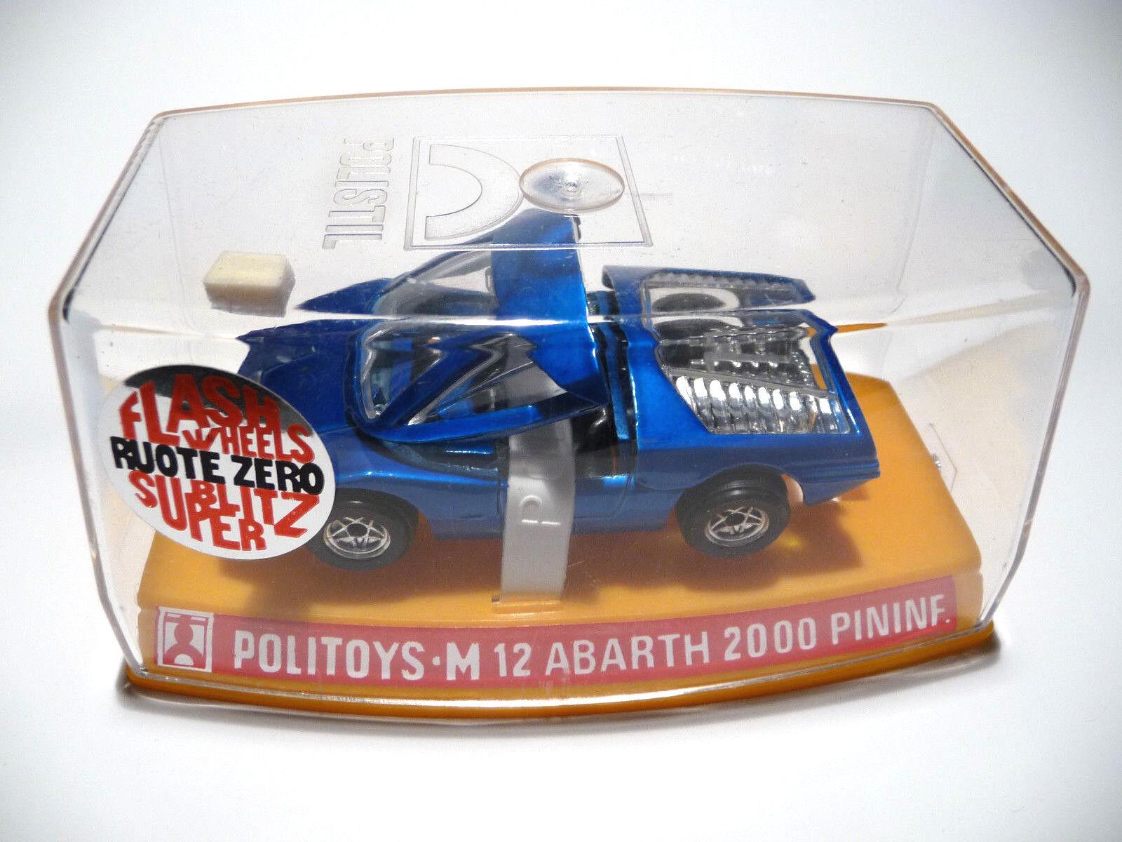 POLITOYS M 12 ABARTH 2000 PININFARINA - 1 43 in Box  | Hervorragende Eigenschaften