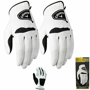 CALLAWAY-XTREME-365-GOLF-GLOVES-2-GLOVE-PACK-ALL-SIZES-MENS-GOLF-GLOVES-WHITE
