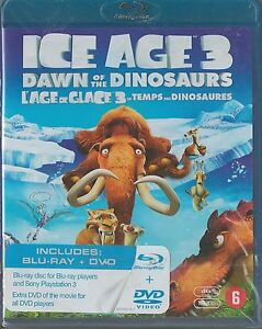 Ice Age 3 Dawn Of The Dinosaurs (Blu-ray+Dvd Combopack)