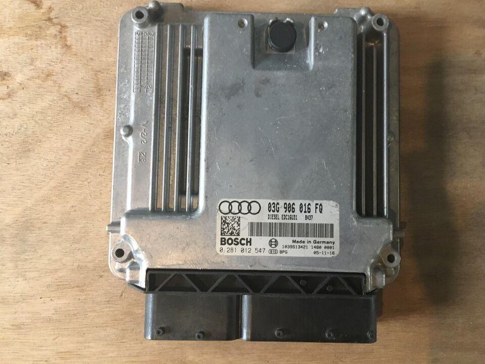 Elektriske Dele, Styreboks til motor Audi A4 , Audi A4 2,0