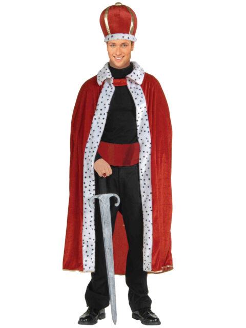 Tudor Dynasty King/'s Cloak Calmatic Armill Red Cloak Renaissance Cloak