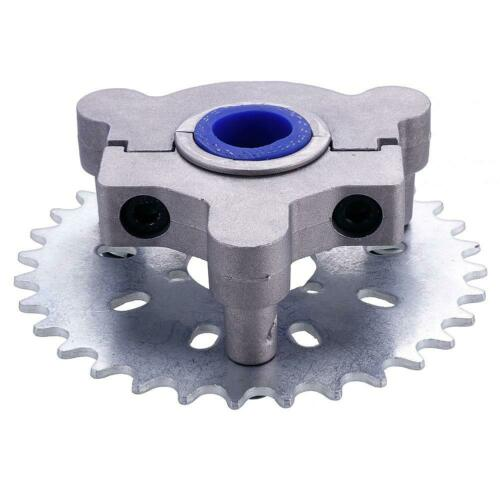 NEW 36T Sprocket CNC With Adapter Fits 49//50cc 66cc 80cc 2 Stroke Motorized Bike