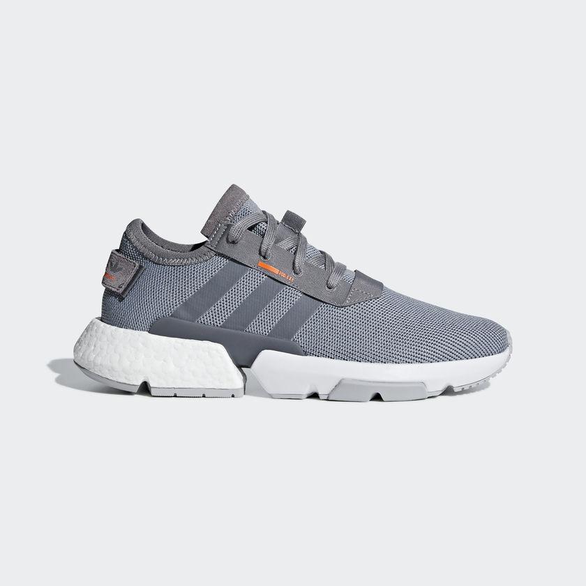 New Adidas Original Mens POD-S3.1 GREY   WHITE B37365 US M 7.0 - 10.0 TAKSE