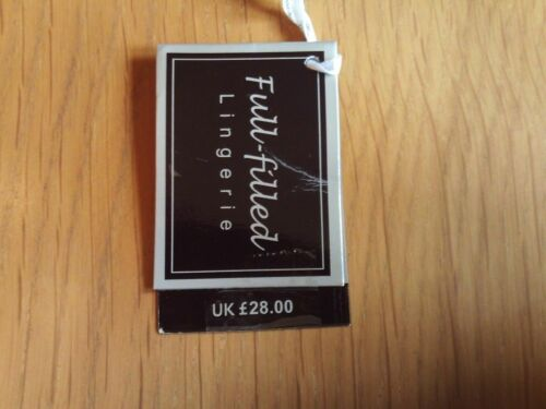 Black And Beige Print Luxury Underwired Slight Padding Bra Various Sizes Availab
