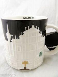 New Relief Sign Original 2015 Mug Starbucks 16oz Coffee Macau City 54jLRA