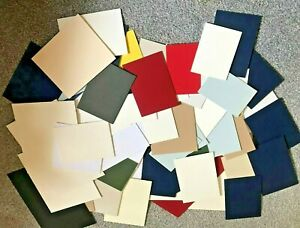 BOX-OF-63-MOUNTBOARD-MOUNT-BOARD-THICK-CARD-OFF-CUTS-ASSORTED-SIZES-AND-COLOURS