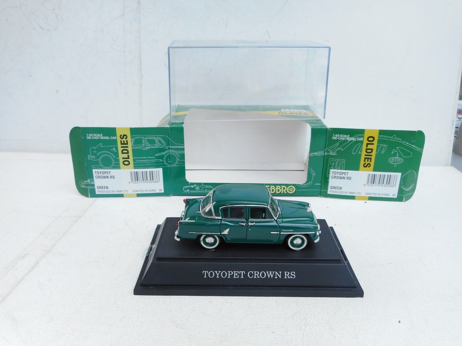 TOYOPET CROWN  RS 1958   TOYOTA EBBRO 1 43 MODEL NEW OVP