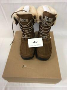 ugg s adirondack iii winter boots chestnut size 9 ebay