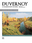 Duvernoy -- 25 Elementary Studies, Op. 176 by Alfred Publishing Co Inc.,U.S.(Paperback / softback)