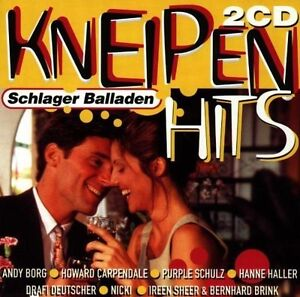 Kneipen-Hits-Schlager-Balladen-1998-Michael-Morgan-Hanne-Haller-Ire-2-CD