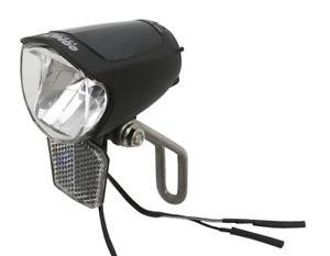 BDCP Fahrrad LED Scheinwerfer 75 Lux Sensor, Standlicht Fahrradlampe Nabendynamo