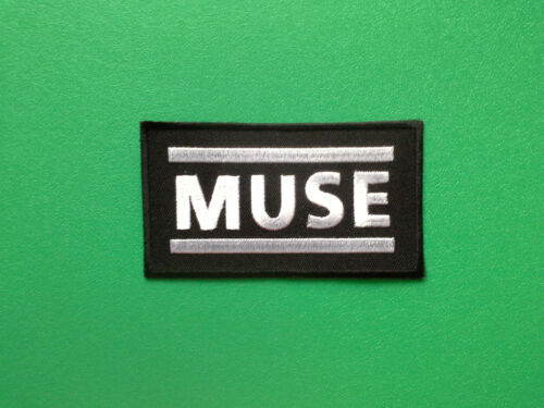MUSE HEAVY METAL PUNK ROCK MUSIC FESTIVAL SEW ON a IRON ON PATCH: