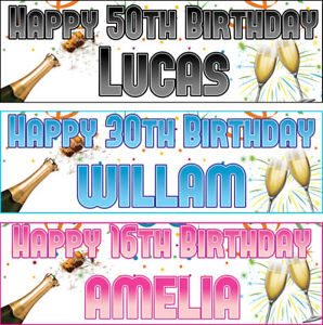 2-personalized-birthday-banner-champagne-adults-party-poster-18th-21st-50th