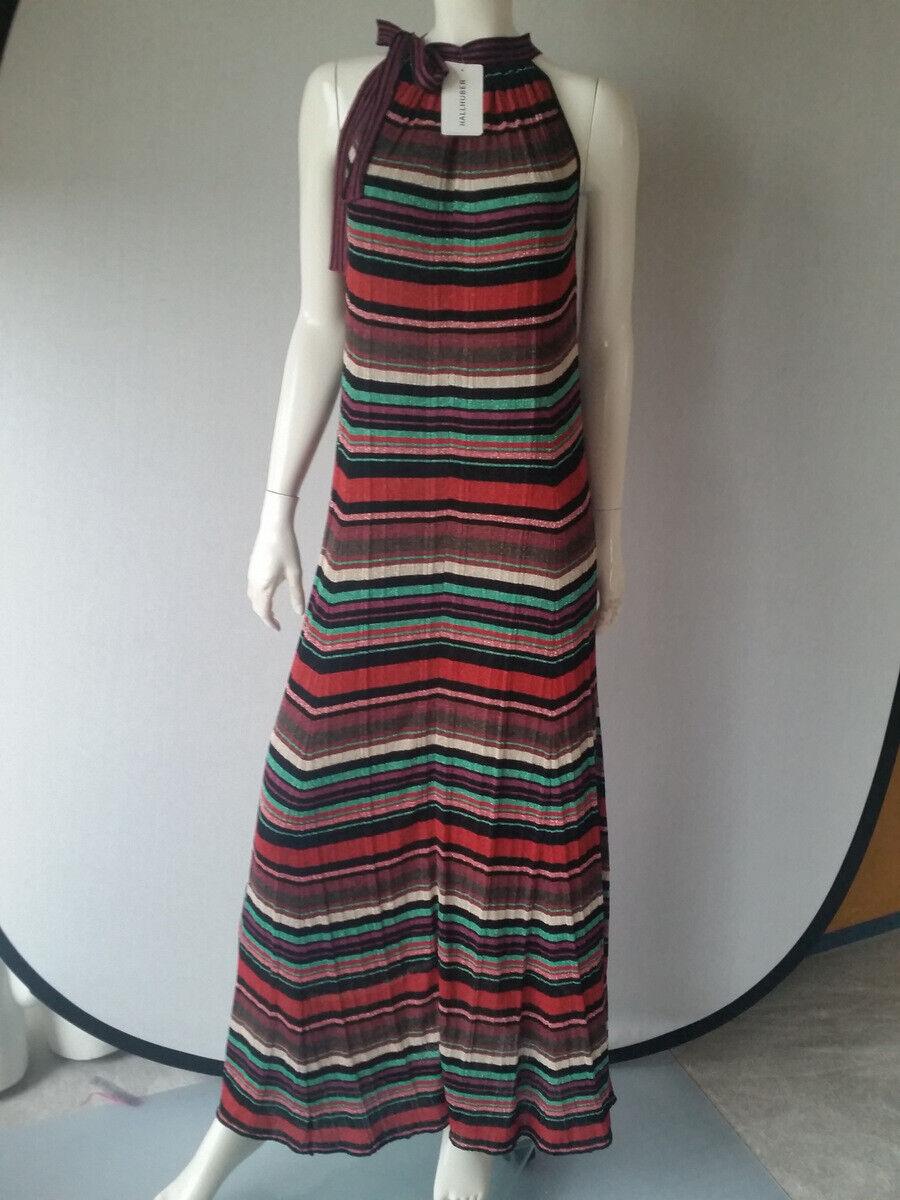 HALLHUBER Kleid Maxikleid Strick Lurex Gr.S  Euro 149,95NEU