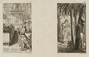 Chodowiecki (1726-1801). un spirito libero il bußtage & un innamorato osservatori 1