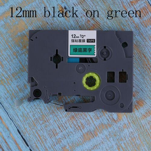 12mm 9mm TZ-231 PT-E100B D210 Etikettenband für Brother P-touch Drucker ZJP
