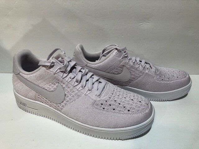 f030e77a6f58 New Nike Air Force 1 Flyknit Low Low Low Shoes Light Violet 817419 500  e77bb9
