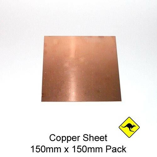 Copper Sheet 1 mm 110 30 cm x  30 cm bulk discounts