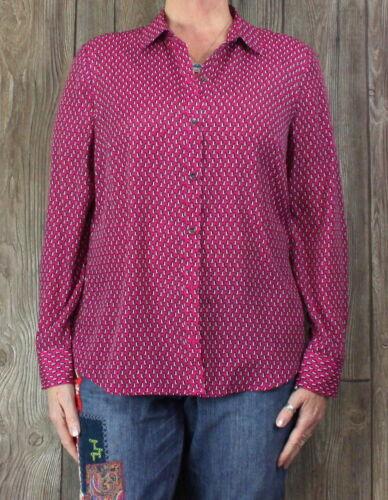 Camicia New firmata rosa taglia York Camicetta magenta donna York 8875568687 Top L ggBAqawprx