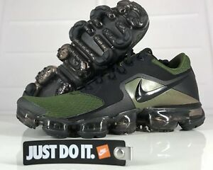 c1f3a8c15ca Nike Air VaporMax flyknit size 10 Olive green Black sepia stone noir ...