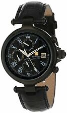 Steinhausen Men's Marquise Three Eyes Automatic Day Date Leather Watch SW391LLL