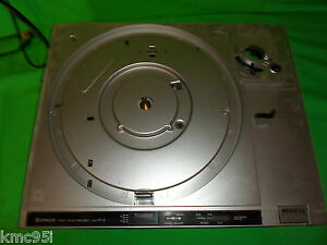 Hitachi direct drive ht 2 turntable motor assembly chassis for Direct drive turntable motor