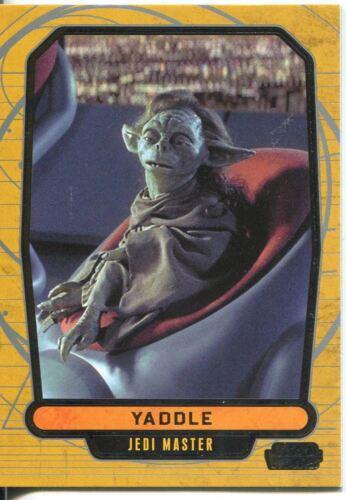 Star Wars Galactic Files 2 Base Card #393 Yaddle
