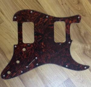 NEW-Tortoise-3-Ply-HH-Stratocaster-PICKGUARD-for-Fender-Strat-Humbucker-Pickups