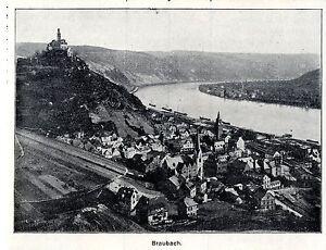 Symbole De La Marque Braubach Historique D'accueil Pour 1906-afficher Le Titre D'origine RafraîChissant Et Enrichissant La Salive