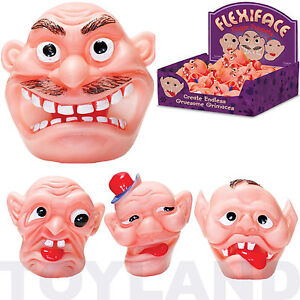 FLEXIFACE-GROSS-FINGER-PUPPET-BOYS-GIRLS-TOY-GIFT-XMAS-CHRISTMAS-STOCKING-FILLER
