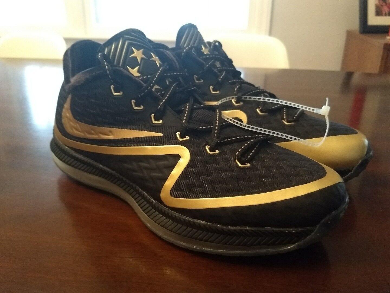 Nike Field General 2 PRM Super Bowl 50 Black/Metallic Gold Rare SZ 9 Trainer