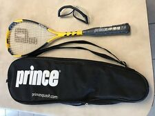 Starter Set Prince F3 Energy Force 3 Squash Racquet Racket Glasses Balls