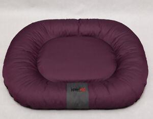 Lit pour chien Ponton Comfort pour lit pour animal de compagnie Canapé pour chien Lit de couverture pour chien Xl Marron