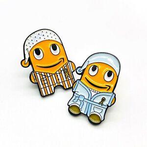 * 2 Stück * Pyjama peccy Pin Set